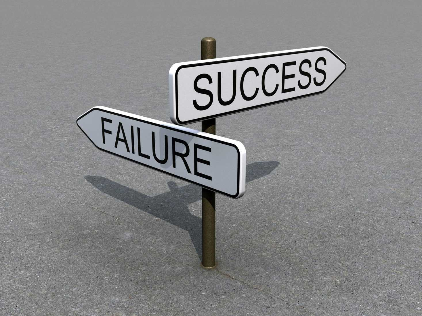Five Reasons Why People May Fail