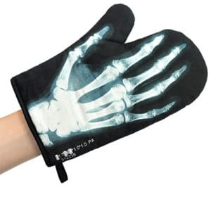 X-Ray Vision Oven Mitt