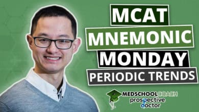 MCAT Mnemonic: Periodic Trends