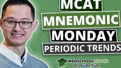 Photo of MCAT Mnemonics: Periodic Trends