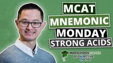 MCAT Mnemonic: Strong Acids