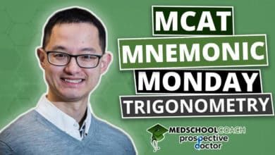 MCAT Mnemonic: Trigonometry