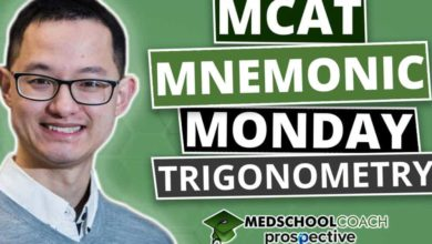 Photo of MCAT Mnemonics: Trigonometry