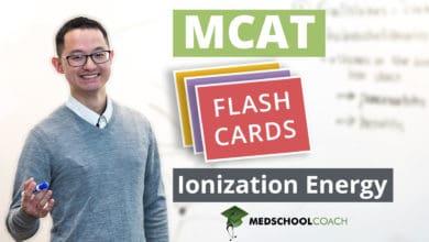 Photo of MCAT Flashcards: Ionization Energy