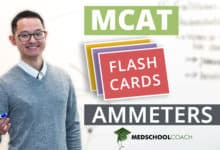 MCAT Flashcards: Ammeters