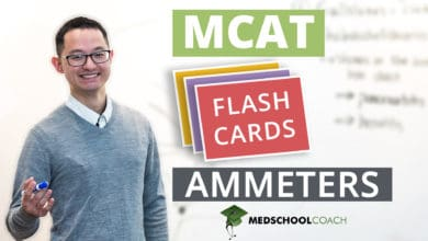 Photo of MCAT Flashcards: Ammeters