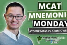 Photo of MCAT Mnemonics: Atomic Mass vs Atomic Weight