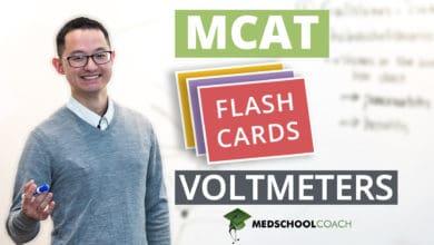Photo of MCAT Flashcards: Voltmeters