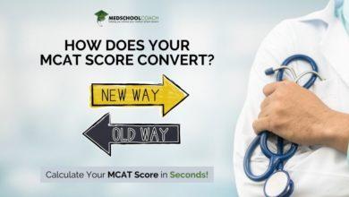 Photo of MCAT Score Conversion Calculator