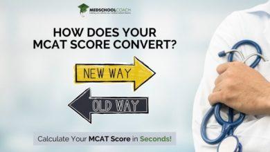 Photo of Shortened MCAT Score Conversion Calculator