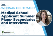 Photo of Medical School Applicant Summer Plans- Secondaries and Interviews