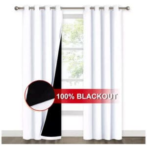 Blackout Window Curtains by Nicetown