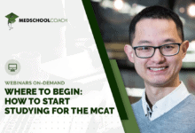 Photo of Where to Begin: How to Start Studying for the MCAT