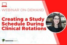 Photo of Creating a Study Schedule During Clinical Rotations